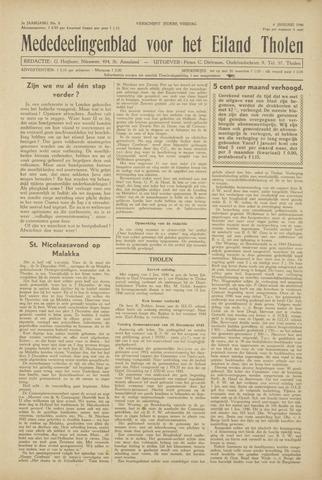 Eendrachtbode (1945-heden)/Mededeelingenblad voor het eiland Tholen (1944/45) 1946
