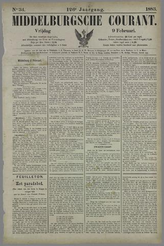 Middelburgsche Courant 1883-02-09