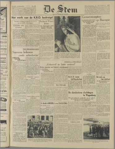 de Stem 1947-10-13
