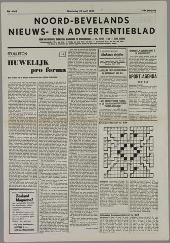 Noord-Bevelands Nieuws- en advertentieblad 1983-04-28