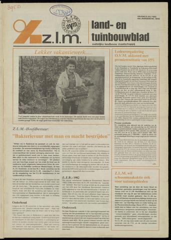 Zeeuwsch landbouwblad ... ZLM land- en tuinbouwblad 1982-07-09