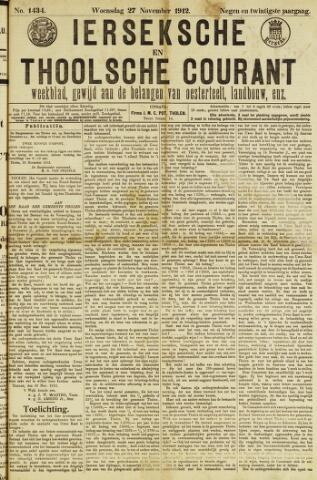 Ierseksche en Thoolsche Courant 1912-11-27