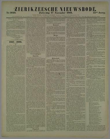 Zierikzeesche Nieuwsbode 1888-11-17