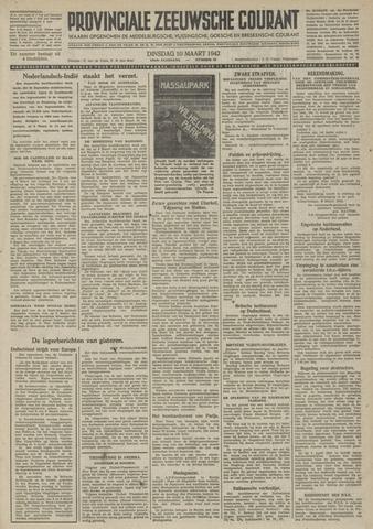 Provinciale Zeeuwse Courant 1942-03-10