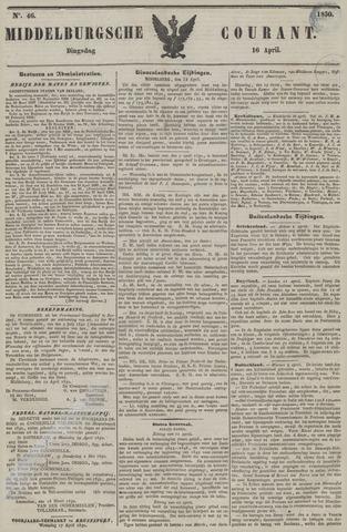 Middelburgsche Courant 1850-04-16