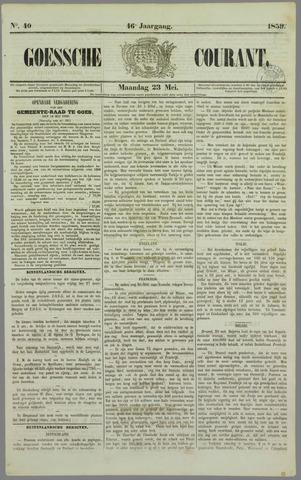 Goessche Courant 1859-05-23