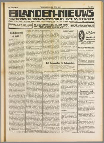 Eilanden-nieuws. Christelijk streekblad op gereformeerde grondslag 1939-06-14