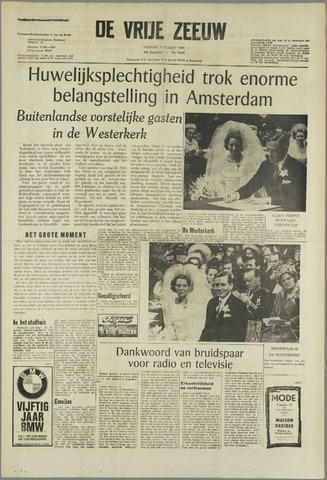 de Vrije Zeeuw 1966-03-11
