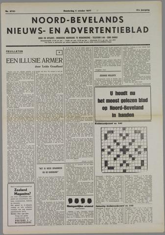 Noord-Bevelands Nieuws- en advertentieblad 1977-10-06