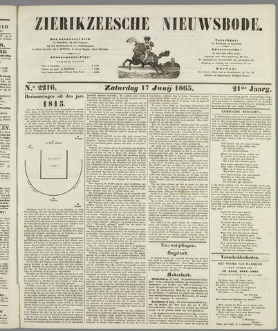 Zierikzeesche Nieuwsbode 1865-06-17