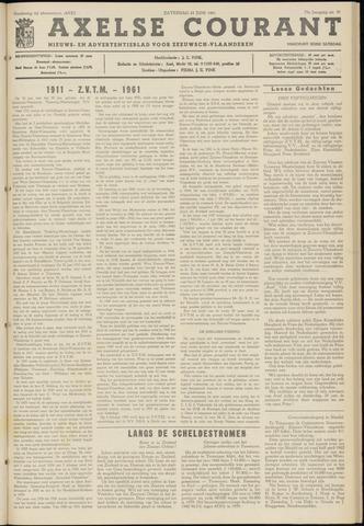 Axelsche Courant 1961-06-24