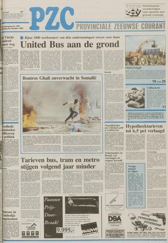 Provinciale Zeeuwse Courant 1993-10-23