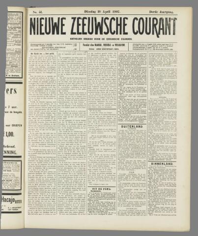 Nieuwe Zeeuwsche Courant 1907-04-30