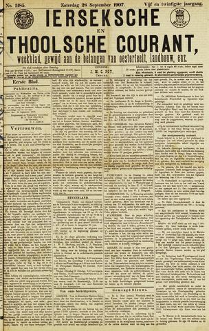 Ierseksche en Thoolsche Courant 1907-09-28