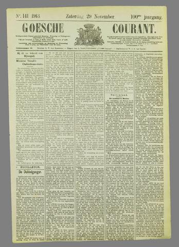 Goessche Courant 1913-11-29