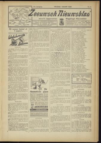 Zeeuwsch Nieuwsblad/Wegeling's Nieuwsblad 1935-03-01