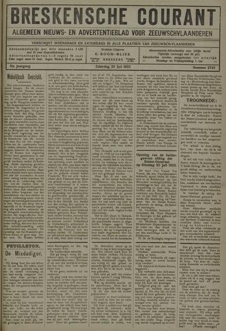 Breskensche Courant 1922-07-29