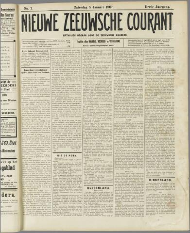 Nieuwe Zeeuwsche Courant 1907-01-05