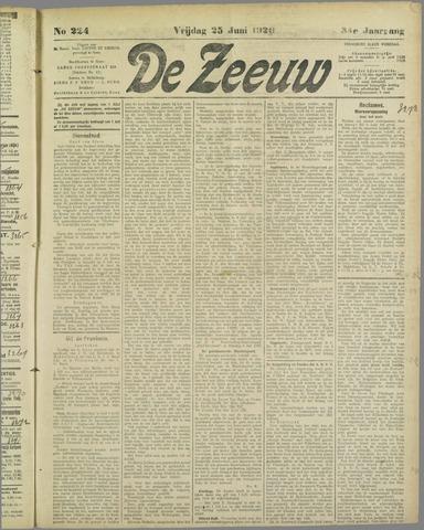 De Zeeuw. Christelijk-historisch nieuwsblad voor Zeeland 1920-06-25