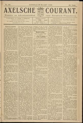 Axelsche Courant 1926-03-30