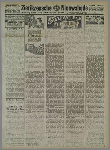 Zierikzeesche Nieuwsbode 1930-03-05
