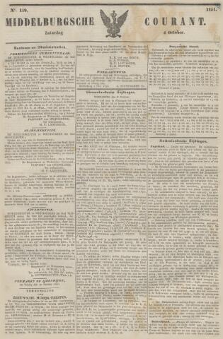 Middelburgsche Courant 1851-10-04