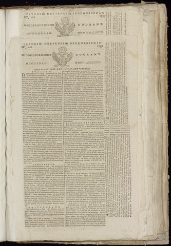Middelburgsche Courant 1799-08-13