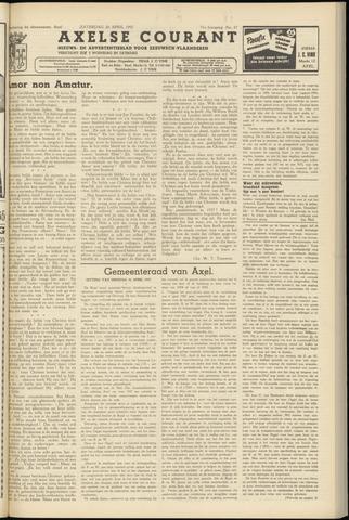 Axelsche Courant 1957-04-20