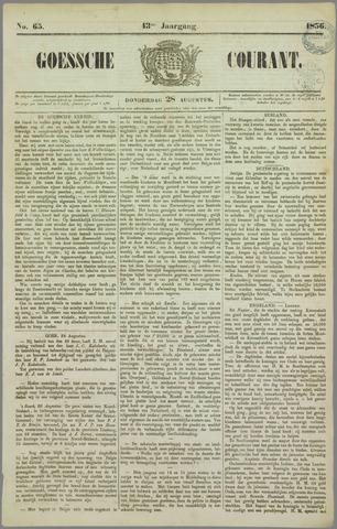 Goessche Courant 1856-08-28