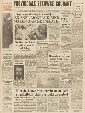 Provinciale Zeeuwse Courant 1966-11-30