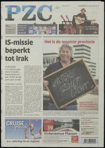 Provinciale Zeeuwse Courant 2014-09-25