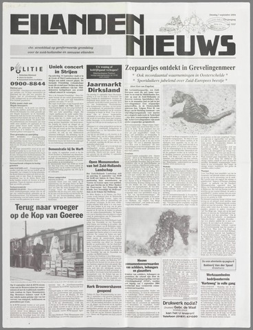 Eilanden-nieuws. Christelijk streekblad op gereformeerde grondslag 2004-09-07