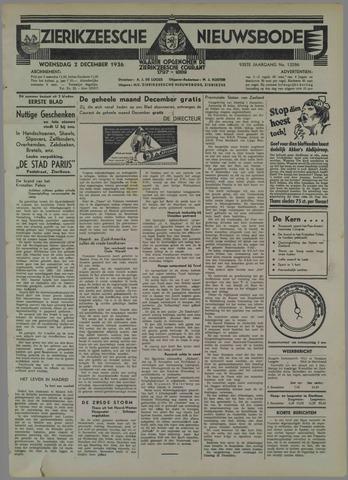 Zierikzeesche Nieuwsbode 1936-12-02