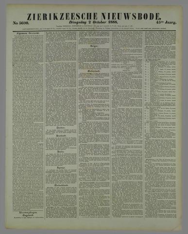 Zierikzeesche Nieuwsbode 1888-10-02