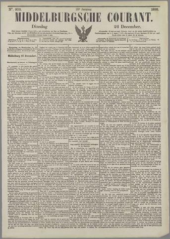 Middelburgsche Courant 1895-12-24