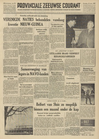 Provinciale Zeeuwse Courant 1957-11-19