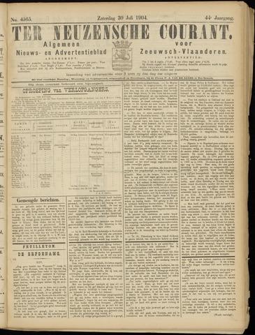 Ter Neuzensche Courant. Algemeen Nieuws- en Advertentieblad voor Zeeuwsch-Vlaanderen / Neuzensche Courant ... (idem) / (Algemeen) nieuws en advertentieblad voor Zeeuwsch-Vlaanderen 1904-07-30