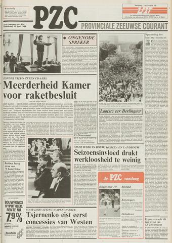 Provinciale Zeeuwse Courant 1984-06-14