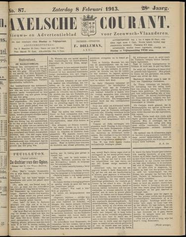 Axelsche Courant 1913-02-08