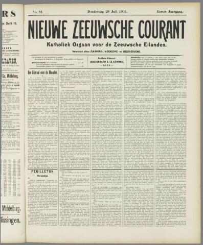 Nieuwe Zeeuwsche Courant 1905-07-20