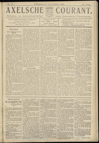 Axelsche Courant 1936-10-27