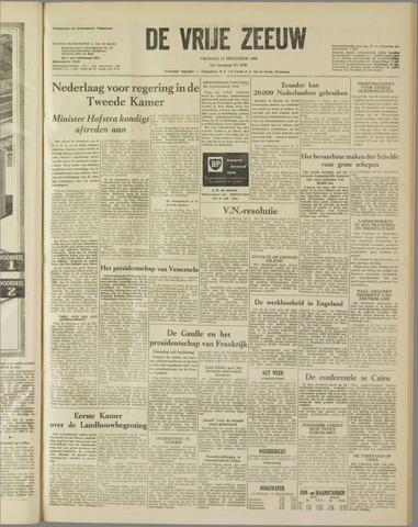 de Vrije Zeeuw 1958-12-12