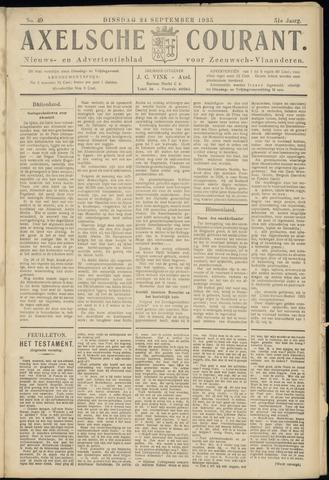 Axelsche Courant 1935-09-24