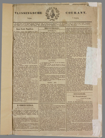 Vlissingse Courant 1848