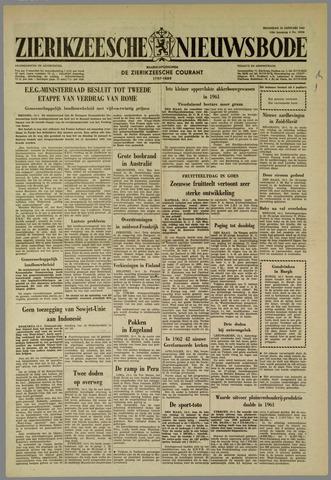 Zierikzeesche Nieuwsbode 1962-01-15