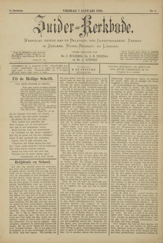 Zuider Kerkbode, Weekblad gewijd aan de belangen der gereformeerde kerken in Zeeland, Noord-Brabant en Limburg. 1898