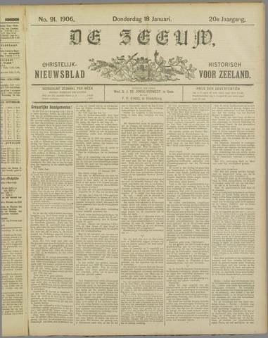 De Zeeuw. Christelijk-historisch nieuwsblad voor Zeeland 1906-01-18