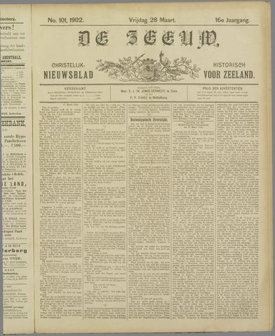 De Zeeuw. Christelijk-historisch nieuwsblad voor Zeeland 1902-03-28