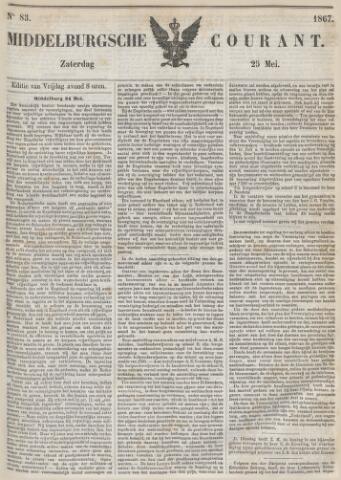Middelburgsche Courant 1867-05-25