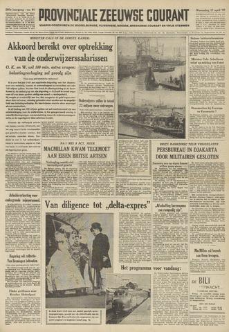 Provinciale Zeeuwse Courant 1957-04-17